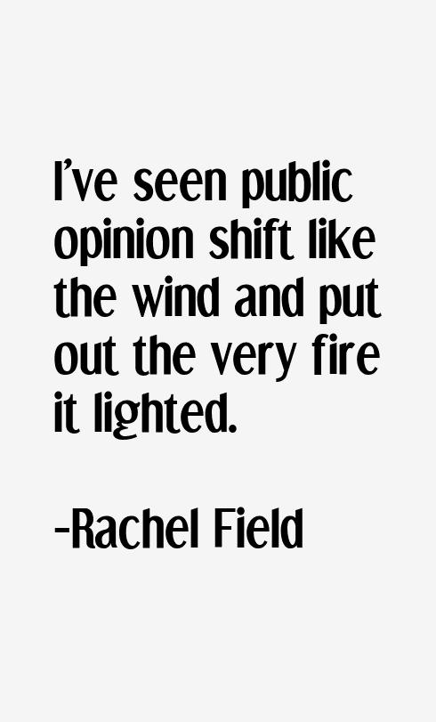 Rachel Field Quotes