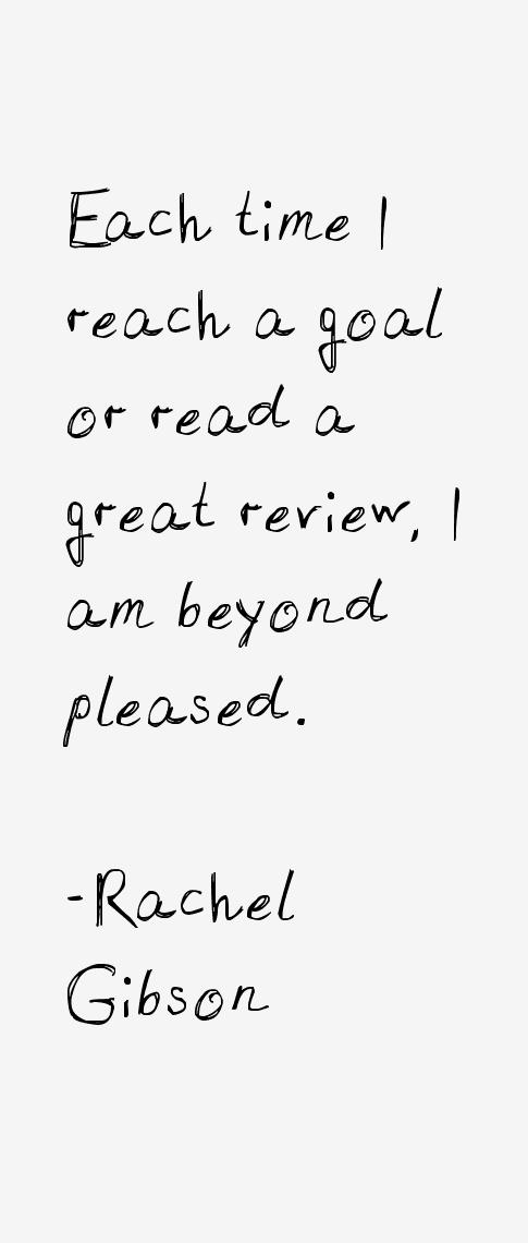 Rachel Gibson Quotes