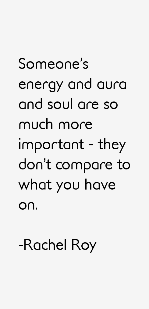 Rachel Roy Quotes