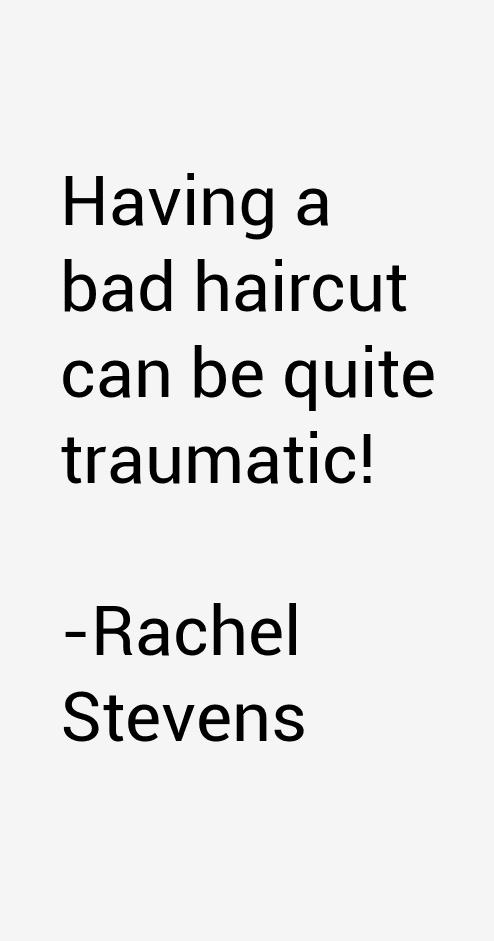 Rachel Stevens Quotes