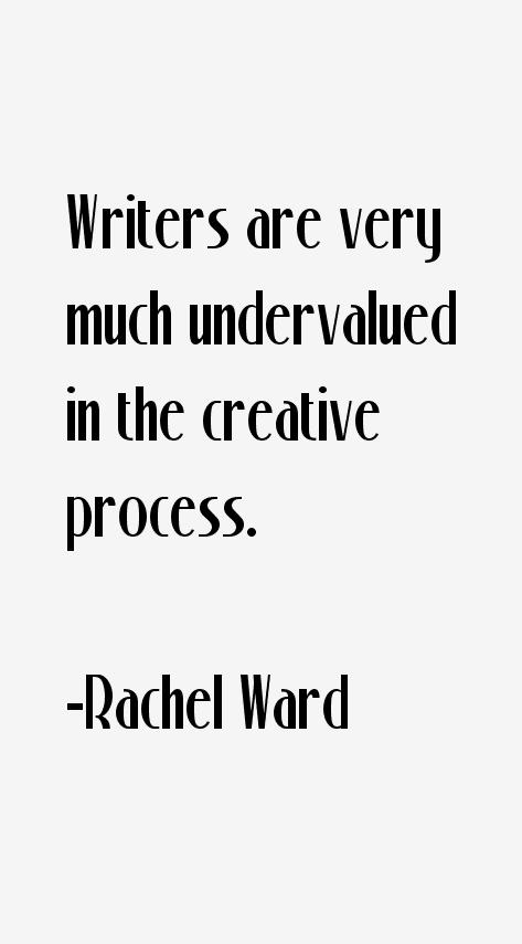 Rachel Ward Quotes