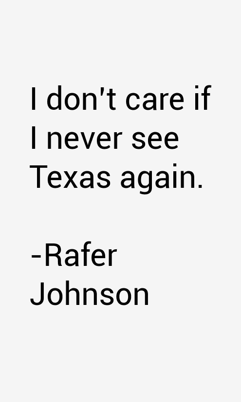 Rafer Johnson Quotes