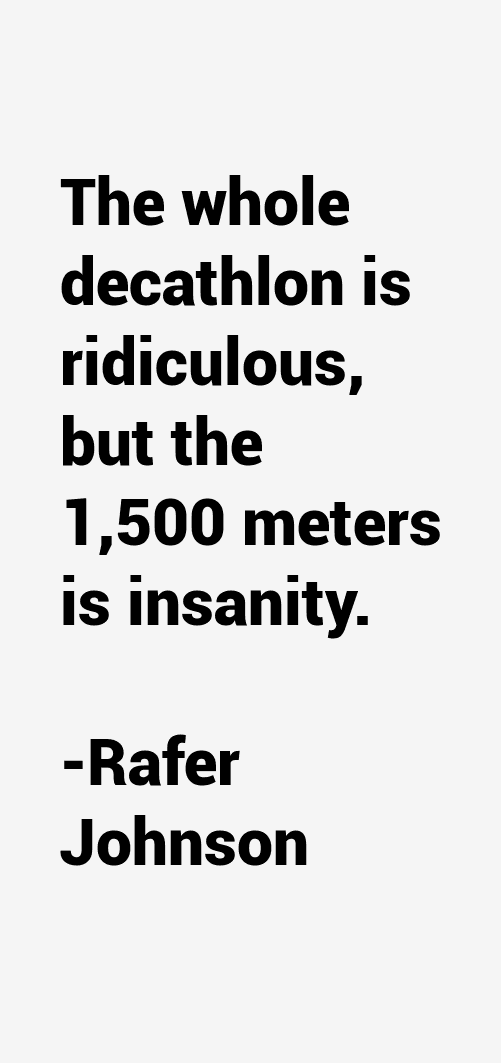 Rafer Johnson Quotes