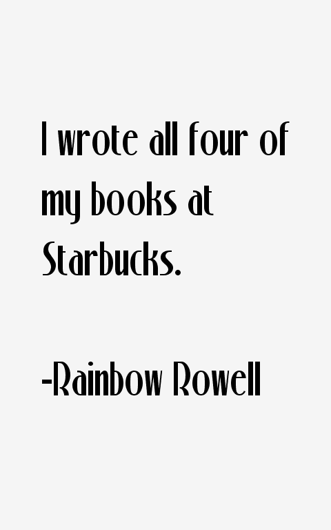 Rainbow Rowell Quotes