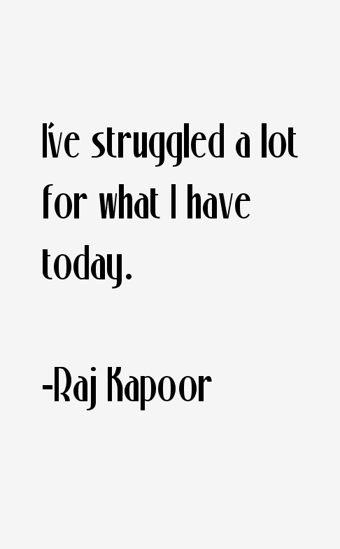 Raj Kapoor Quotes