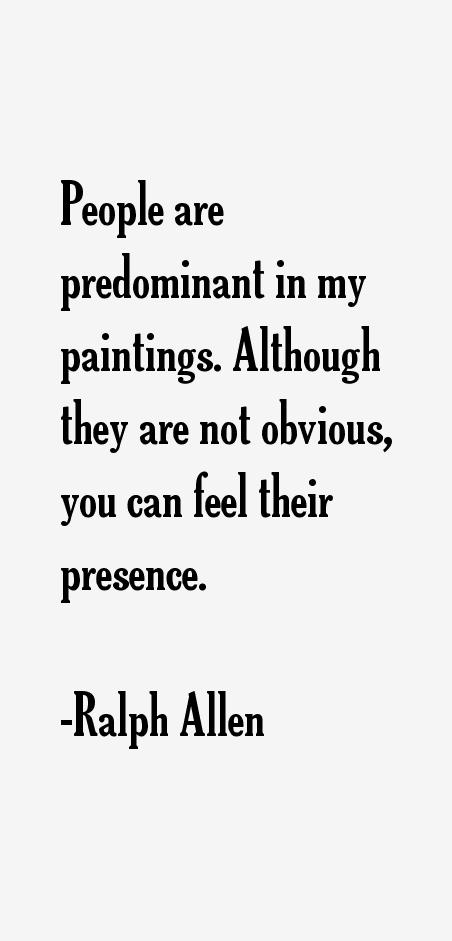 Ralph Allen Quotes