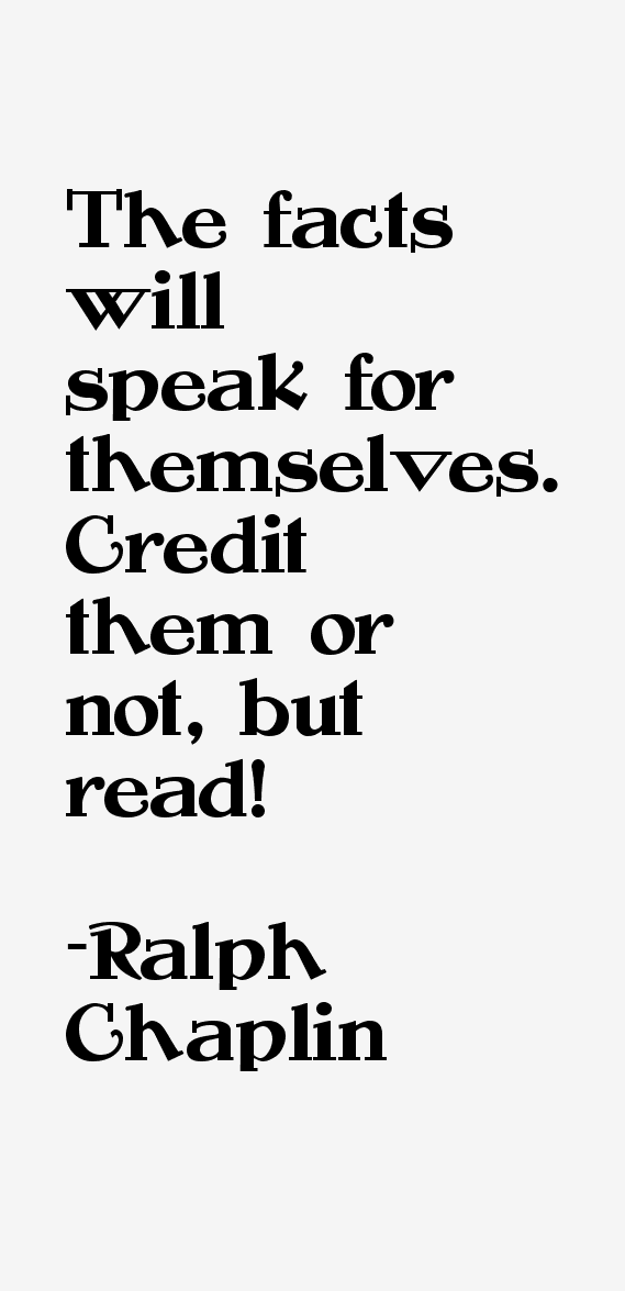 Ralph Chaplin Quotes