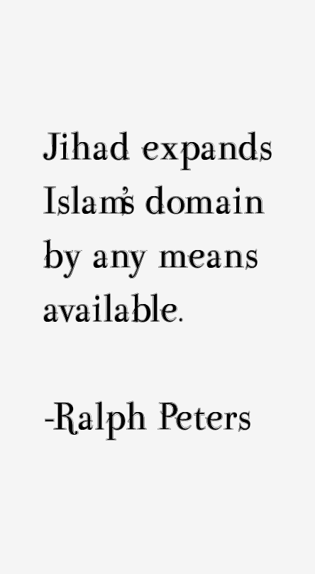 Ralph Peters Quotes