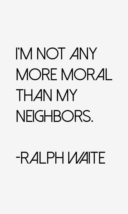Ralph Waite Quotes