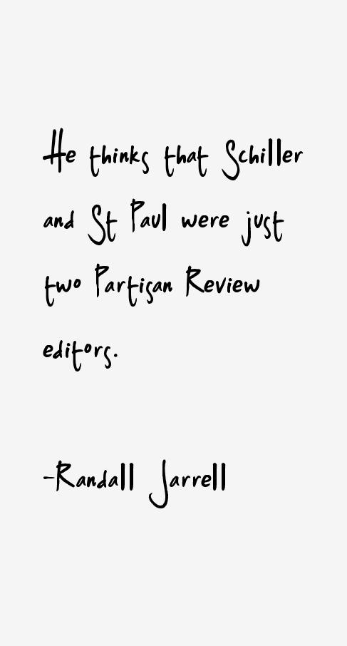 Randall Jarrell Quotes