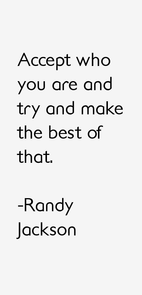 Randy Jackson Quotes