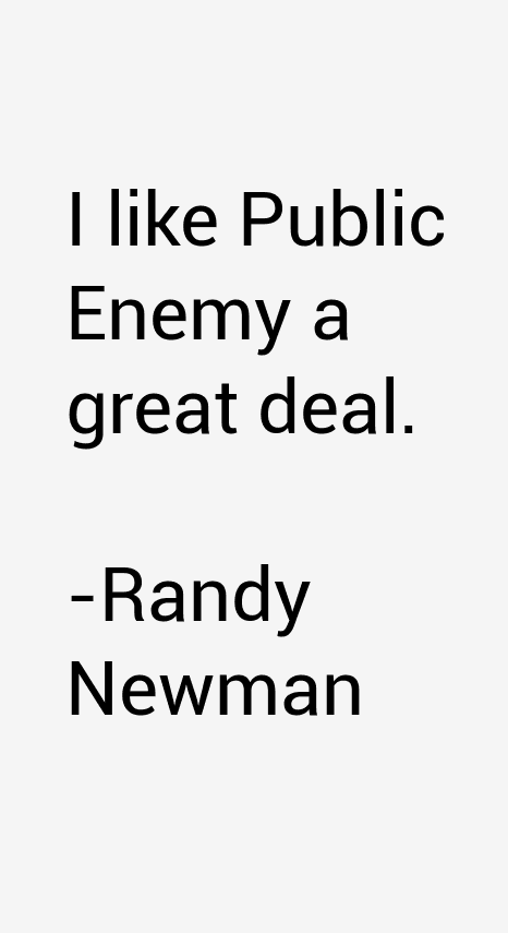 Randy Newman Quotes