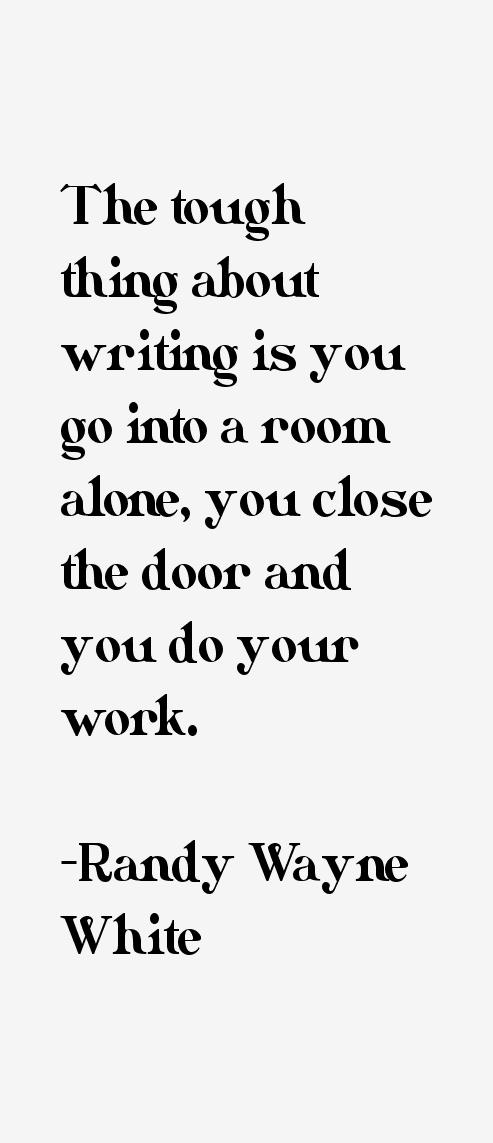 Randy Wayne White Quotes