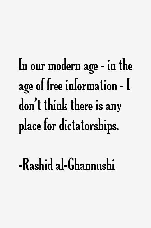 Rashid al-Ghannushi Quotes