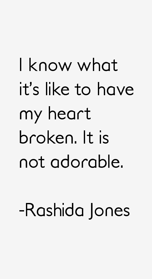 Rashida Jones Quotes