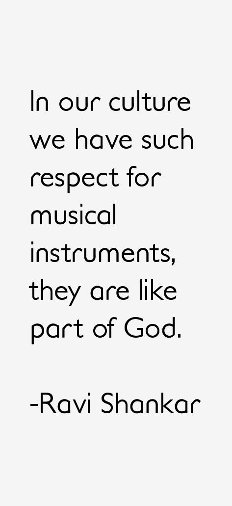 Ravi Shankar Quotes