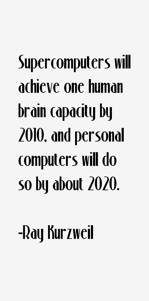 Ray Kurzweil Quotes