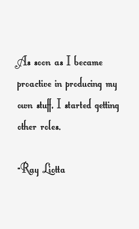 Ray Liotta Quotes
