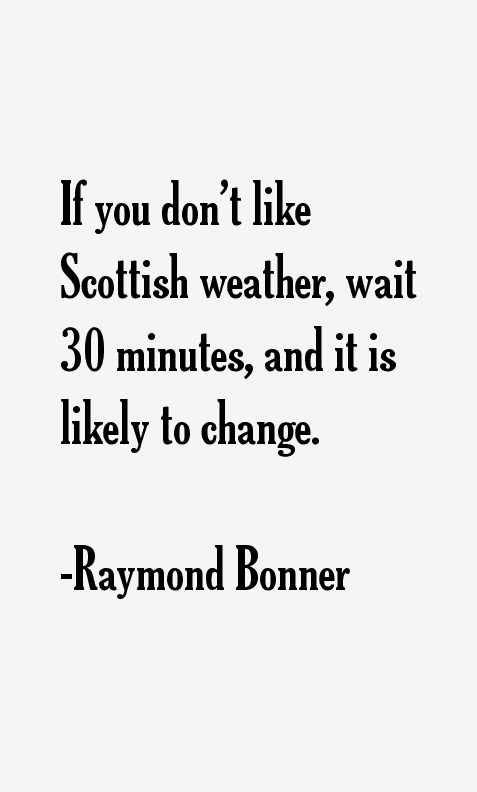 Raymond Bonner Quotes
