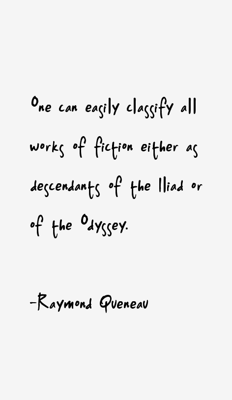 Raymond Queneau Quotes