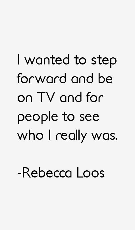 Rebecca Loos Quotes