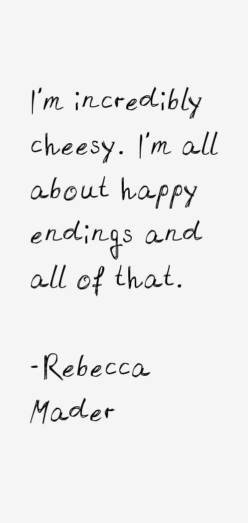 Rebecca Mader Quotes