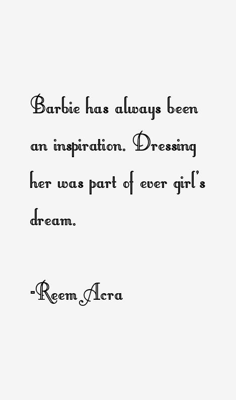 Reem Acra Quotes