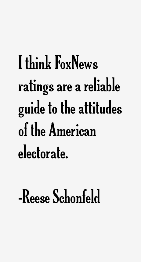 Reese Schonfeld Quotes