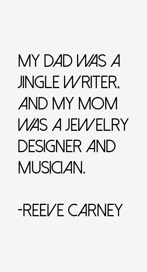 Reeve Carney Quotes