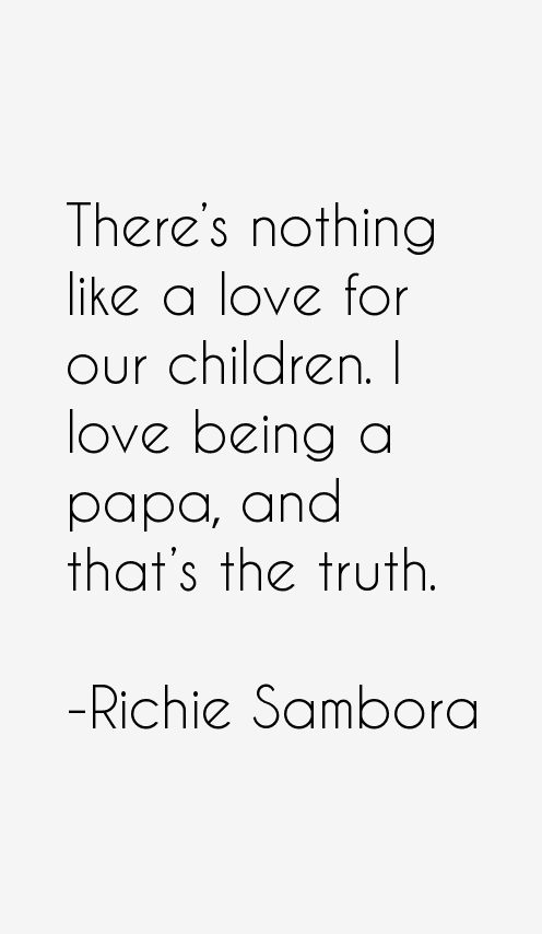 Richie Sambora Quotes