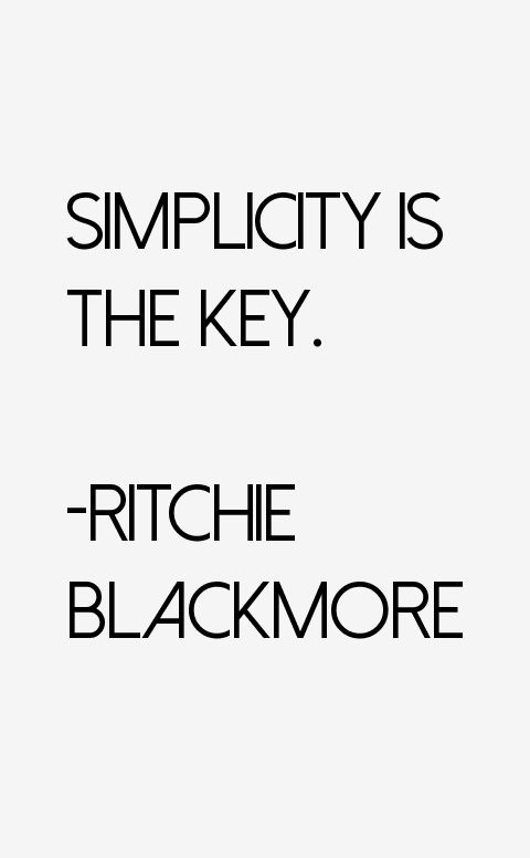 ritchie blackmore quotes  u0026 sayings