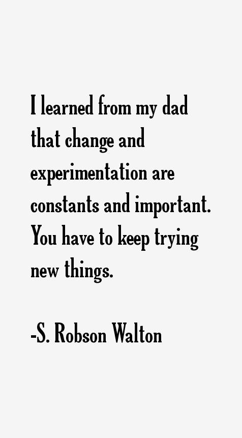 S. Robson Walton Quotes