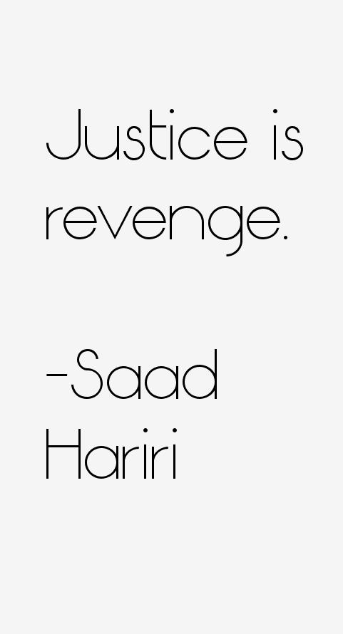 Saad Hariri Quotes