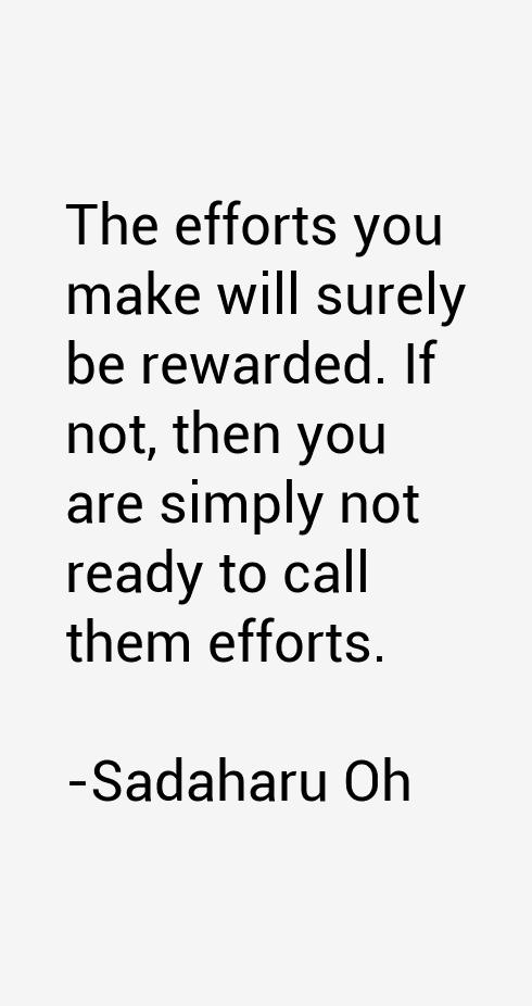 Sadaharu Oh Quotes