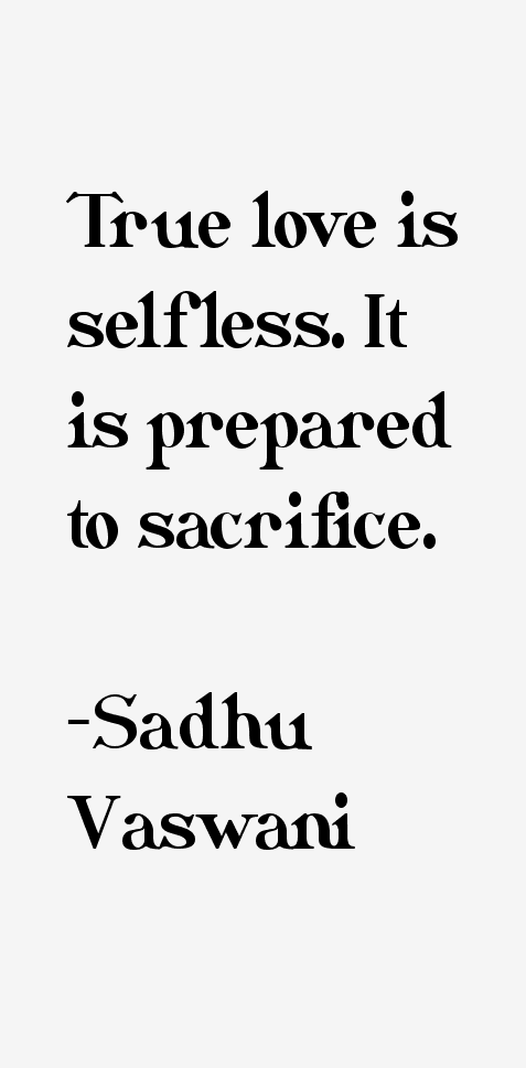 Sadhu Vaswani Quotes