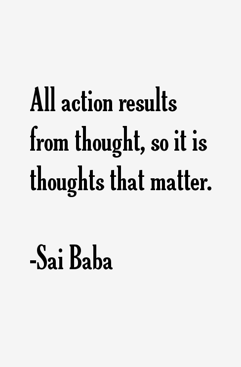 Sai Baba Quotes