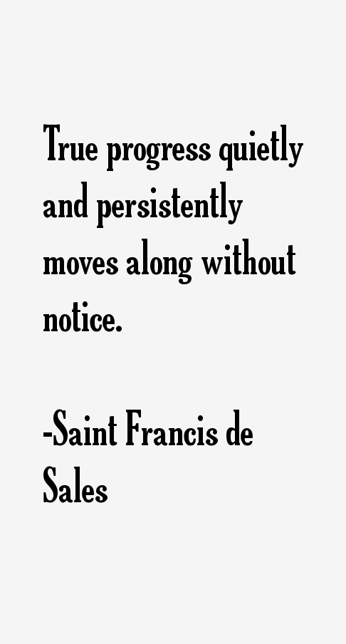 Saint Francis de Sales Quotes & Sayings (Page 2)