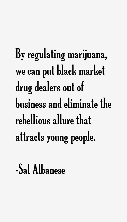 Sal Albanese Quotes