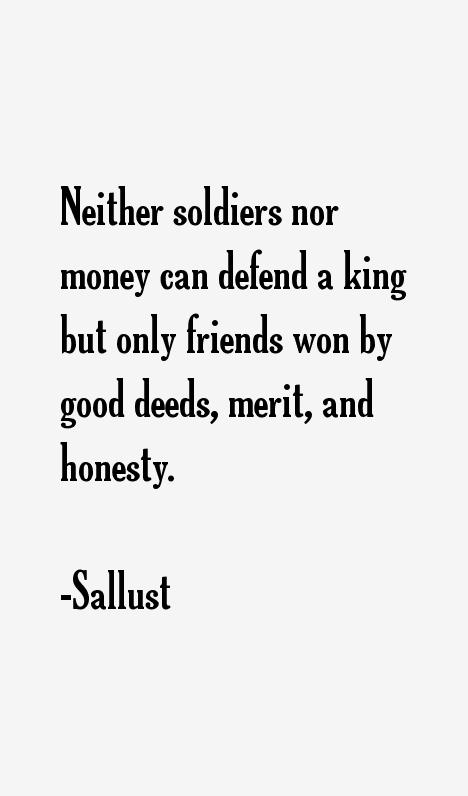 Sallust Quotes