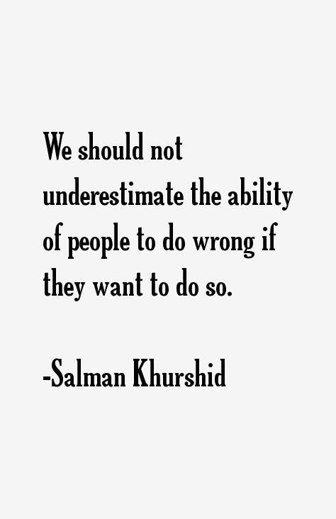 Salman Khurshid Quotes