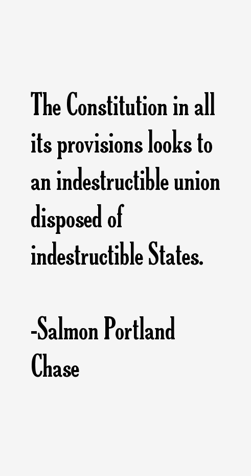 Salmon Portland Chase Quotes