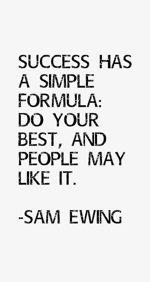 Sam Ewing Quotes