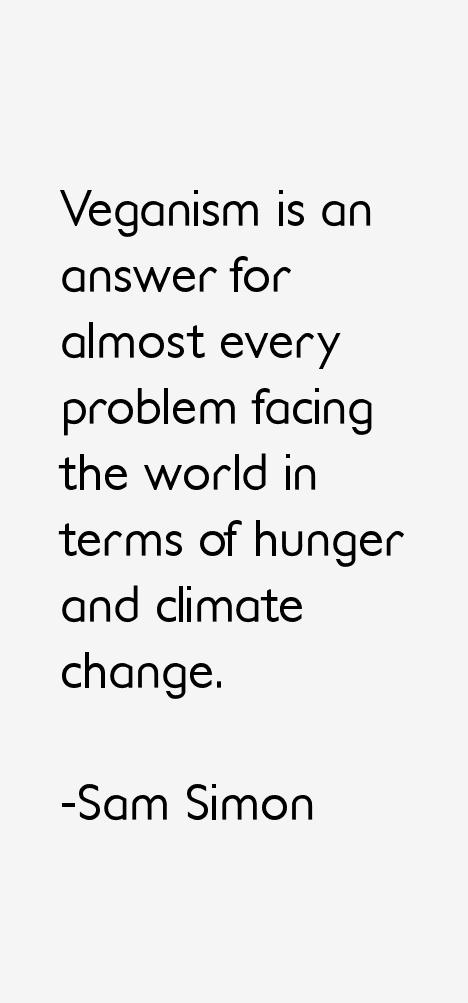 Sam Simon Quotes
