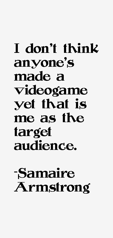Samaire Armstrong Quotes