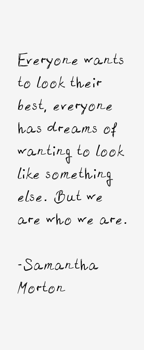 Samantha Morton Quotes