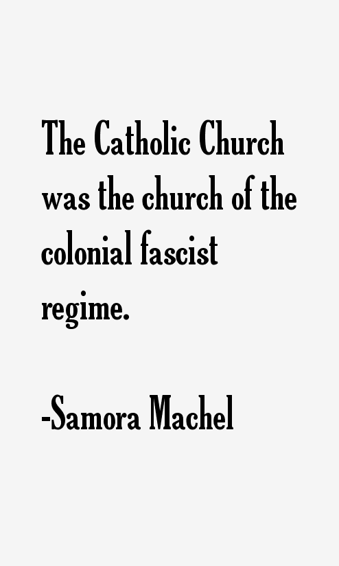 Samora Machel Quotes