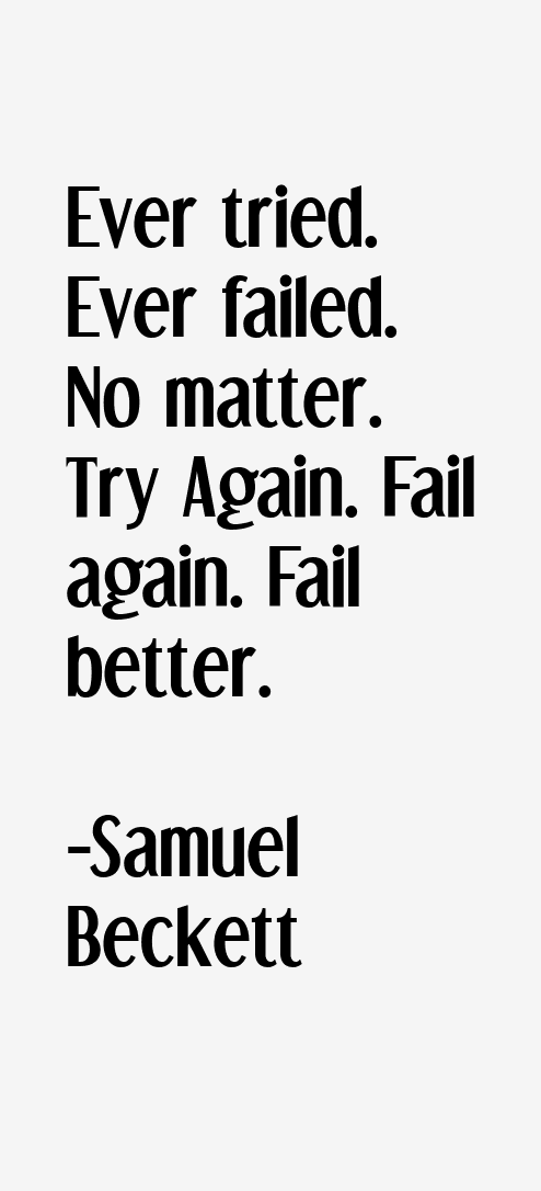 Samuel Beckett Quotes