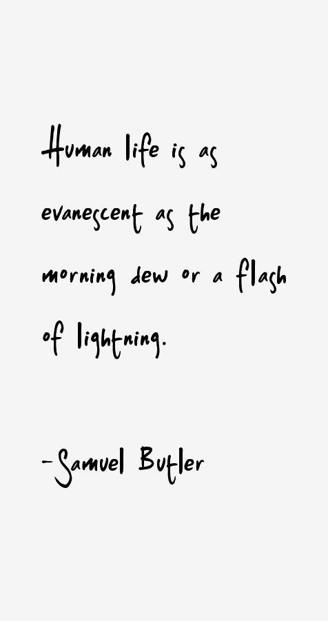 Samuel Butler Quotes