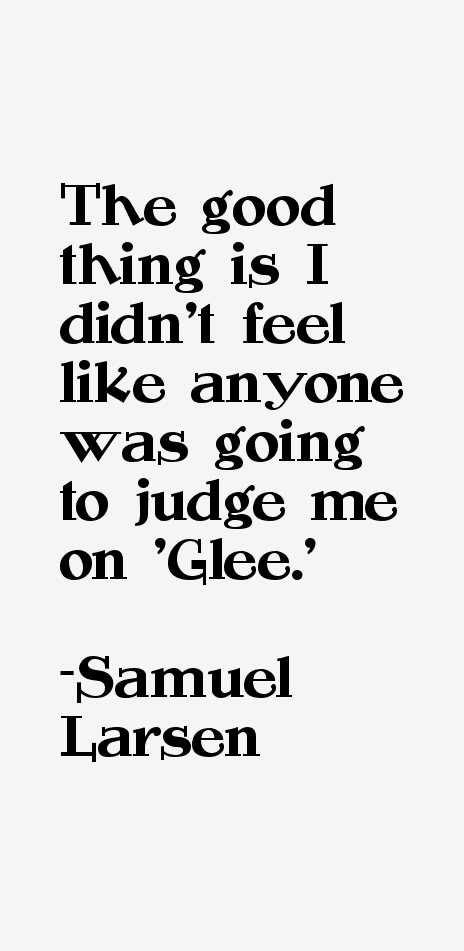 samuel larsen quotes quotesgram - photo #31