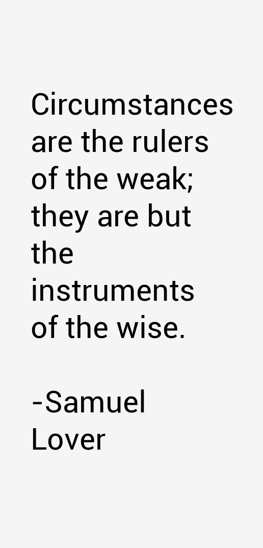 Samuel Lover Quotes
